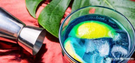 Afbeelding van een blauw mixdrankje